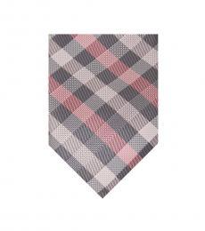 Pink Spectrum Plaid Tie