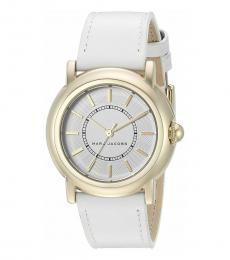 Marc Jacobs White Courtney Watch