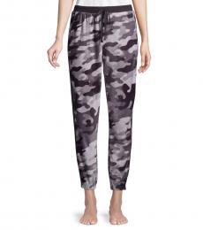 Grey Camouflage Pajama Pants