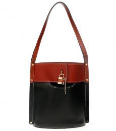 Chloe Black Aby Large Bucket Bag