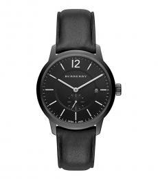 Burberry Black Classic Round Watch