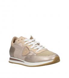 Pink Metallic Tropez Sneakers