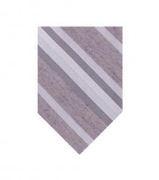 Calvin Klein Purple Dusty Stripe Tie