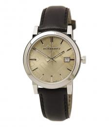 Burberry Dark Brown Classic Logo Watch