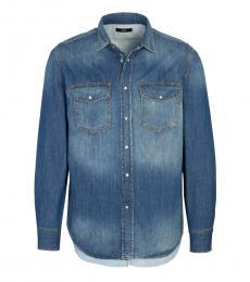 Diesel Blue Regular Fit Shirt