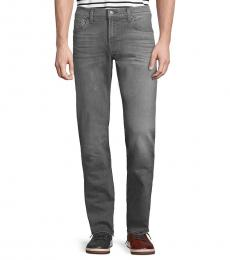 7 For All Mankind Grey Slimmy Straight Jeans