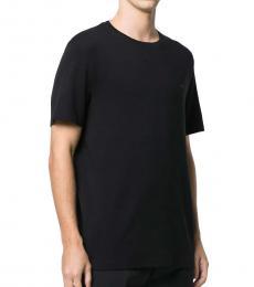 Michael Kors Black Logo Cotton T-Shirt