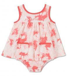 Calvin Klein Baby Girls Assorted Tie-Dye Sunsuit
