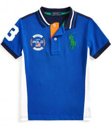 Ralph Lauren Little Boys Pacific Royal Big Pony Polo