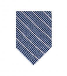 DKNY Blue Pillar Stripe Tie