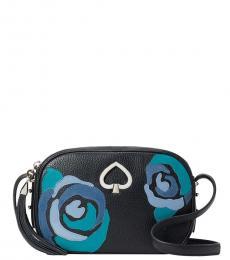 Kate Spade Black Kourtney Small Crossbody Bag