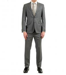 Hugo Boss Grey Wool Two Button Suit