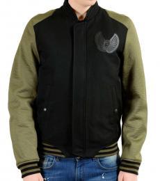 Black Bomber Padded Jacket