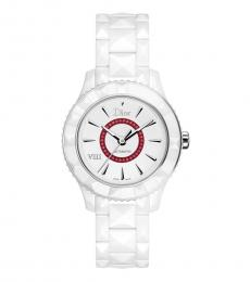 Christian Dior White Classic Ceramic Watch
