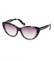 Brown Edgy Groovy Sunglasses