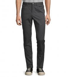 Grey Skinny-Fit Pants