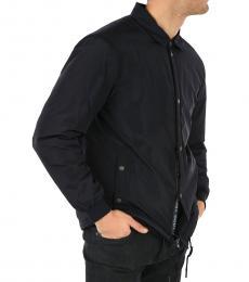 Ermenegildo Zegna Navy Blue Padded Jacket
