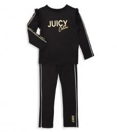 Juicy Couture 2 Piece Top/Pants Set (Little Girls)