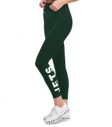 DKNY Dark Green Jets Zen Legging
