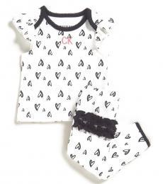 Calvin Klein 2 Piece T-Shirt/Pants Set (Baby Girls)