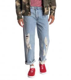 Diesel Blue Dagh Regular Straight Leg Jeans