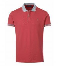 Trussardi Coral Logo Classic Polo