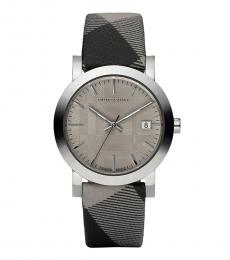 Burberry Grey Heritage Watch
