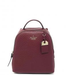 Kate Spade Cherrywood Carter Mini Backpack