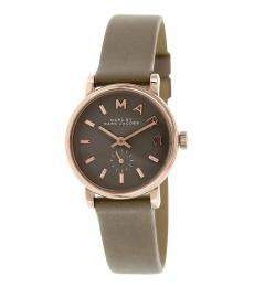 Marc Jacobs Grey Baker Watch