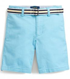 Ralph Lauren Little Boys Neptune Slim Fit Belted Chino Shorts