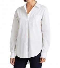 Ralph Lauren White Classic Cotton Shirt