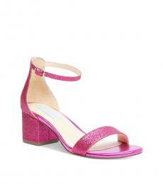 Betsey Johnson Fuchsia Miri Evening Heels