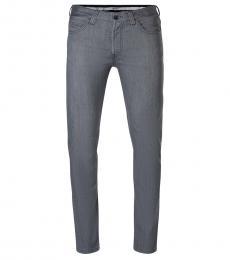 Armani Jeans Dark Grey Regular Fit Jeans