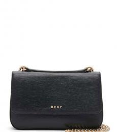 DKNY Black Gramercy Medium Shoulder Bag
