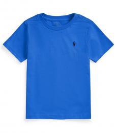 Ralph Lauren Little Boys Spa Royal Crewneck T-shirt