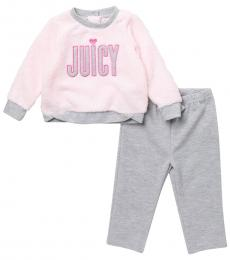 Juicy Couture 2-Piece Sweater & Pants Set (Baby Girls)