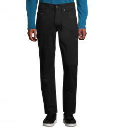 True Religion Black Geno Relaxed Slim Jeans