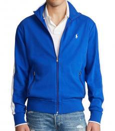 Ralph Lauren Royal Blue Cotton Track Jacket