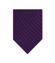 DKNY Purple Pattern Tie
