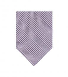 DKNY Purple Stripe Sky Line Tie