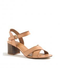 Saddle Low Block Heels