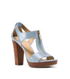 Pale Blue Berkley Heels