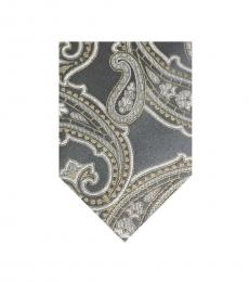 Hugo Boss Gray Voguish Ritzy Tie