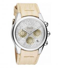 Light Yellow Analog Watch