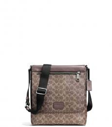 Coach Light Brown Sullivan Large Crossbody