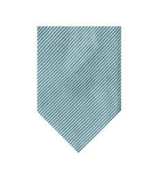Tom Ford Pale Green Diagonal Striped Silk Tie