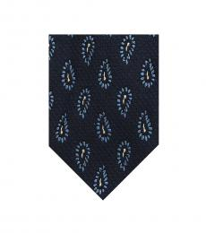 Blue Modish Ritzy Tie