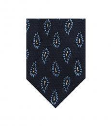 Zegna Blue Modish Ritzy Tie