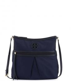 Tory Burch Navy Swingpack Large Crossbody