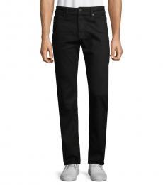 Diesel Black Tapered Slim Trousers
